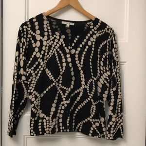 Cabi String of Pearls cardigan size large